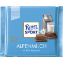 Ritter Sport alpine milk 100g blackboard
