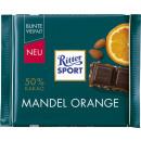 Ritter Sport tablica migdałowo-pomarańczowa 100g
