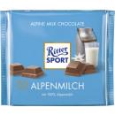 rycerskie sportowe alpejskie mleko 250g tablica