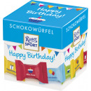 Ritter Sport chocolate cube birthday176g box