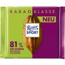 Ritter Sport kk 81% ghana 100g bar