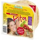 Großhandel Nahrungs- und Genussmittel: Mestemacher pita weizen 6 Stück 400g 645
