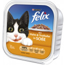 felix lb chicken + turkey 100g