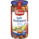 Großhandel Nahrungs- und Genussmittel: meica saft.bockwurst eh 6/180g Glas