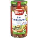 Großhandel Nahrungs- und Genussmittel: meica bio-saftbockwurst 6/180g Glas
