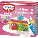 Dr.Oetker 4back + food colors 40g