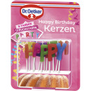 Candele Happy Birthday Dr.Oetker