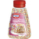 Dr.Oetker decor confetti 100g bottle