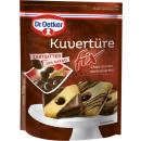 Großhandel Nahrungs- und Genussmittel: Dr.Oetker kuvertüre fix Zartbitter 150g ...