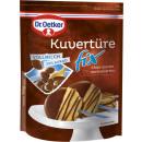 Großhandel Nahrungs- und Genussmittel: Dr.Oetker kuvertüre fix vm 150g Beutel