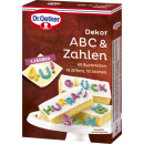 Dr.Oetker decor chocolate abc & pay 58g
