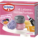 Dr.Oetker 4 food colors 40g