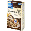 Koelln choco + coffee cereal 500g