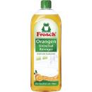frosch orangenrein. 750ml Flasche