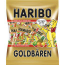 Haribo gold bear minis 250g bag