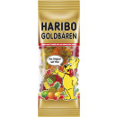 Haribo mini gold bear 75g bag