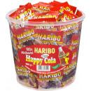 wholesale Food & Beverage: Haribo happy cola minis 100 pcs. Tin