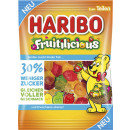 Haribo fruitilic.zuckerred. 160g bag