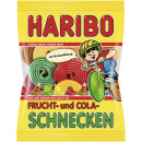 Haribo colorful snails 175g bag