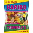 wholesale Food & Beverage: Haribo tropifrutti + 10% 220g bag