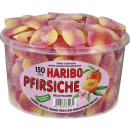 Haribo peaches 150 pcs. Tin