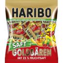 Haribo juice-gold-bear minis 220g bag
