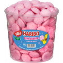 Haribo pink bubble 150 pcs. Tin