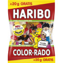 Haribo színes rado + 10% 220g-os zsák