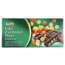 karina chocolate bittersweet + nut 200g blackboard