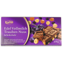 karina chocolate grape nut 200g blackboard