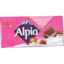 alpia strawberry yoghurt 100g blackboard