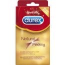 wholesale Erotic-Accessories:durex natural feel. 10
