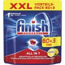 Großhandel Reinigung: finish xxl alles/1 cit. 60 + 3er