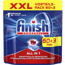 Finish xxl everything / 1 reg. 60 + 3s