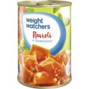 ingrosso Alimentari & beni di consumo: Peso Whatchers ravioli würz.tom400g can