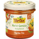 Tartex organic vegetable papr. Trio, 135g can