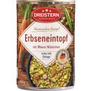 Großhandel Nahrungs- und Genussmittel: dreistern erbsen-et + wiener400g Dose