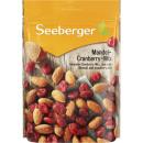 Seeberger almond cranberry mix 150g bag