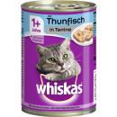 Großhandel Garten & Baumarkt: Whiskas adult mit thunfisch 400g Dose