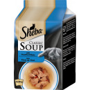 wholesale Garden & DIY store: sheba soup tuna filet 4x40g