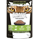 crave pouch pate lamb + beef 85g
