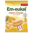 em-eukal ginger-orange without sugar 75g bag