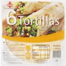 Großhandel Nahrungs- und Genussmittel: Sinnack 6 tortilla wraps weiz372g