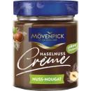 moevenpick creme nut nougat, 300g glass