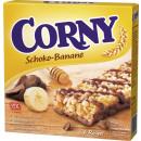 Schwartau corny banan czekoladowy 6x25g