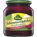 Großhandel Nahrungs- und Genussmittel: Kühne schlem.rote bete580ml Glas