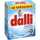 Großhandel Haushalt & Küche: dalli sensitiv 48 Waschladungen