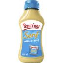 Großhandel Nahrungs- und Genussmittel: Bautzener Senf mittelscharf sq.300ml Flasche