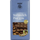 wholesale Other: gepa whole milk pure 33% 100g bar