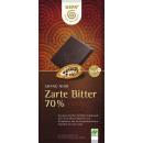 gepa bio dark chocolate 70% 100g bar